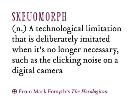 Skeuomorph